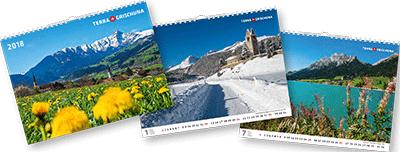 Terra Grischuna Kalender 2018
