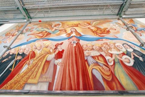 Kloster Disentis Kirche St. Martin