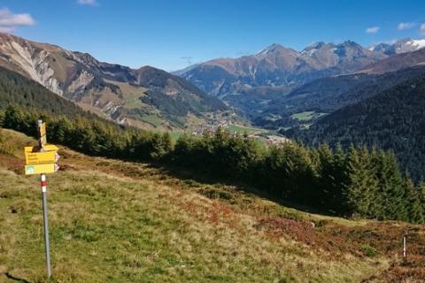Weitwandern Graubünden