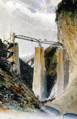Baul Landwasserviadukt