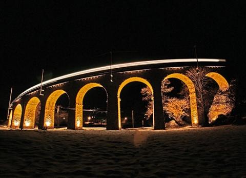 RhB Viadukt Brusio