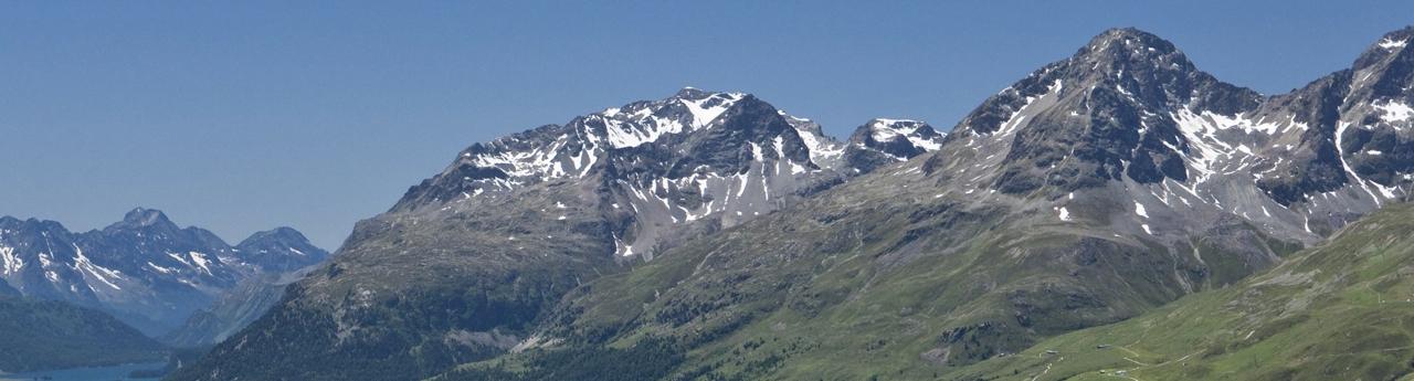 Panoramabild Oberengadin