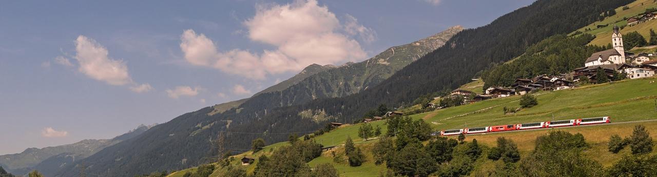 Panoramabild Sumvitg