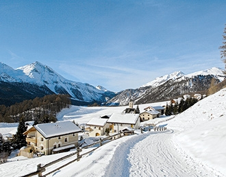 Val Müstair, Lü im Winter