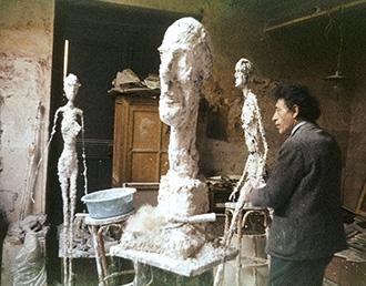 Alberto Giacometti, Atelier Paris